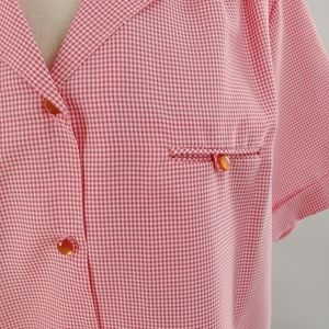 Vintage 1970s! Checks! Pink! So on trend for 2021